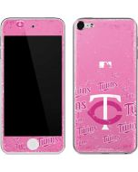Minnesota Twins - Pink Cap Logo Blast Apple iPod Skin