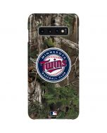 Minnesota Twins Realtree Xtra Green Camo Galaxy S10 Plus Lite Case