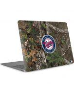 Minnesota Twins Realtree Xtra Green Camo Apple MacBook Air Skin