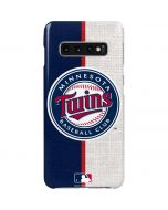 Minnesota Twins Split Galaxy S10 Plus Lite Case