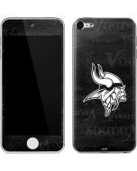 Minnesota Vikings Black & White Apple iPod Skin