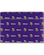 Minnesota Vikings Blitz Series Galaxy Book Keyboard Folio 12in Skin