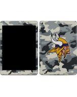 Minnesota Vikings Camo Apple iPad Skin