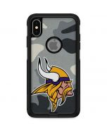 Minnesota Vikings Camo Otterbox Commuter iPhone Skin