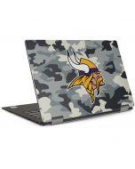 Minnesota Vikings Camo Dell XPS Skin