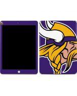 Minnesota Vikings Large Logo Apple iPad Skin