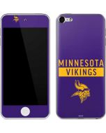 Minnesota Vikings Purple Performance Series Apple iPod Skin