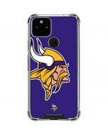 Minnesota Vikings Retro Logo Google Pixel 5 Clear Case