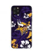 Minnesota Vikings Tropical Print iPhone 11 Pro Max Skin