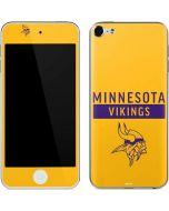 Minnesota Vikings Yellow Performance Series Apple iPod Skin