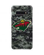 Minnesota Wild Camo Galaxy S10 Plus Lite Case