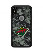 Minnesota Wild Camo Otterbox Commuter iPhone Skin