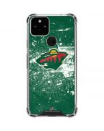 Minnesota Wild Frozen Google Pixel 5 Clear Case