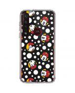 Minnie Mouse Bubbles Moto G8 Plus Clear Case