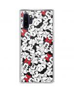Minnie Mouse Color Pop Galaxy Note 10 Plus Clear Case