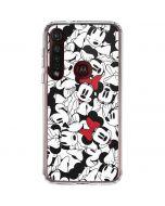 Minnie Mouse Color Pop Moto G8 Plus Clear Case