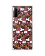 Minnie Mouse Dancing Galaxy Note 10 Plus Clear Case