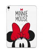 Minnie Mouse Apple iPad Pro Skin