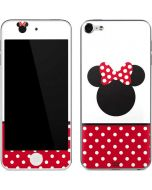 Minnie Mouse Symbol Apple iPod Skin
