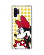 Minnie Mouse Yellow Dots Galaxy Note 10 Plus Clear Case