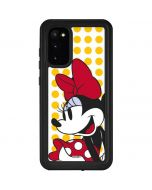 Minnie Mouse Yellow Dots Galaxy S20 Waterproof Case