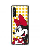 Minnie Mouse Yellow Dots LG Velvet Clear Case