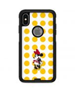 Minnie Mouse Yellow Dots Otterbox Commuter iPhone Skin