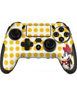 Minnie Mouse Yellow Dots PlayStation Scuf Vantage 2 Controller Skin