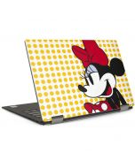 Minnie Mouse Yellow Dots Dell XPS Skin