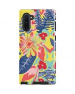 Mirrored Flowers Galaxy Note 10 Pro Case