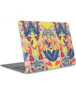 Mirrored Flowers Apple MacBook Air Skin