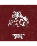 Mississippi State Bulldogs Distressed Xbox One X Console Skin