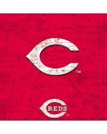 Cincinnati Reds - Solid Distressed Yoga 910 2-in-1 14in Touch-Screen Skin