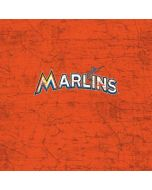 Miami Marlins Solid Distressed iPhone 6/6s Skin