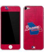 Atlanta Braves Home Turf Apple iPod Skin