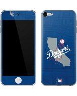 Los Angeles Dodgers Home Turf Apple iPod Skin