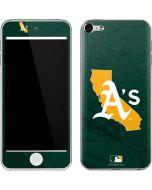 Oakland Athletics Home Turf Apple iPod Skin