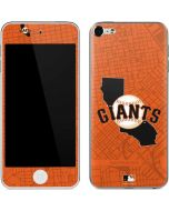 San Francisco Giants Home Turf Apple iPod Skin