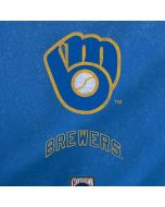 Milwaukee Brewers - Cooperstown Distressed Yoga 910 2-in-1 14in Touch-Screen Skin