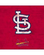 St. Louis Cardinals - Solid Distressed Galaxy S6 Edge Skin