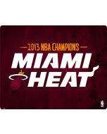 Miami Heat Finals Champs 2013 Apple iPod Skin
