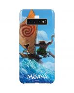 Moana and Maui Ride the Wave Galaxy S10 Plus Lite Case