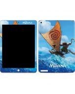 Moana and Maui Ride the Wave Apple iPad Skin