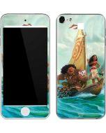 Moana and Maui Set Sail Apple iPod Skin