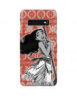 Moana Tropical Print Galaxy S10 Plus Lite Case