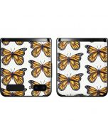 Monarch Butterflies Galaxy Z Flip Skin