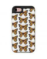Monarch Butterflies iPhone 7 Wallet Case