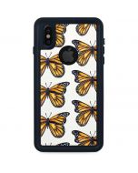 Monarch Butterflies iPhone X Waterproof Case