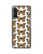 Monarch Butterflies LG Velvet Clear Case