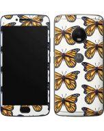 Monarch Butterflies Moto G5 Plus Skin